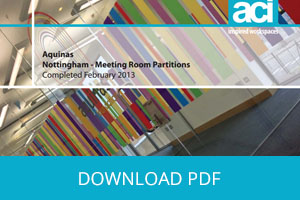 Design, Supply and Installation of Frameless Glass Partitioning & Feature Manifestation