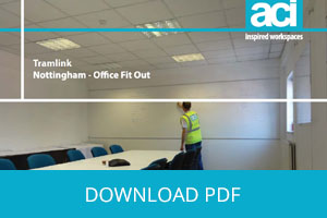 Complete Office Fit-Out for Tramlink's New Nottingham Office Space