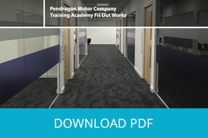 Complete Office Fit-Out for Nottingham Training Facility