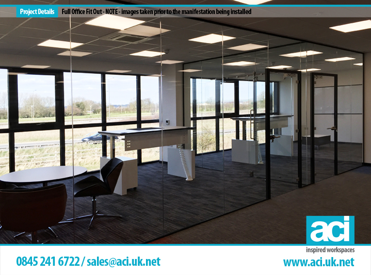 Turn key office fit out services from aci for Office fit out