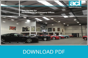 Architectural Mezzanine Floor for Established Supercar Trader