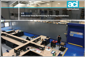 Steel Partitioning, Mesh Caging, Shelving and Pallet Racking Installation
