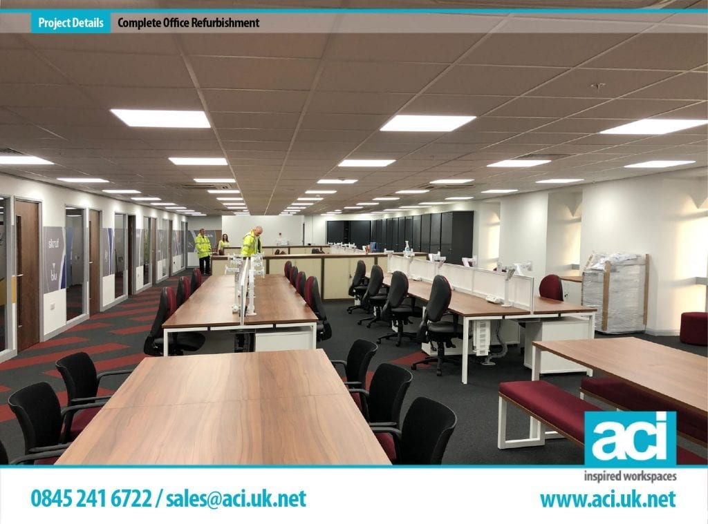 nottingham office fit out