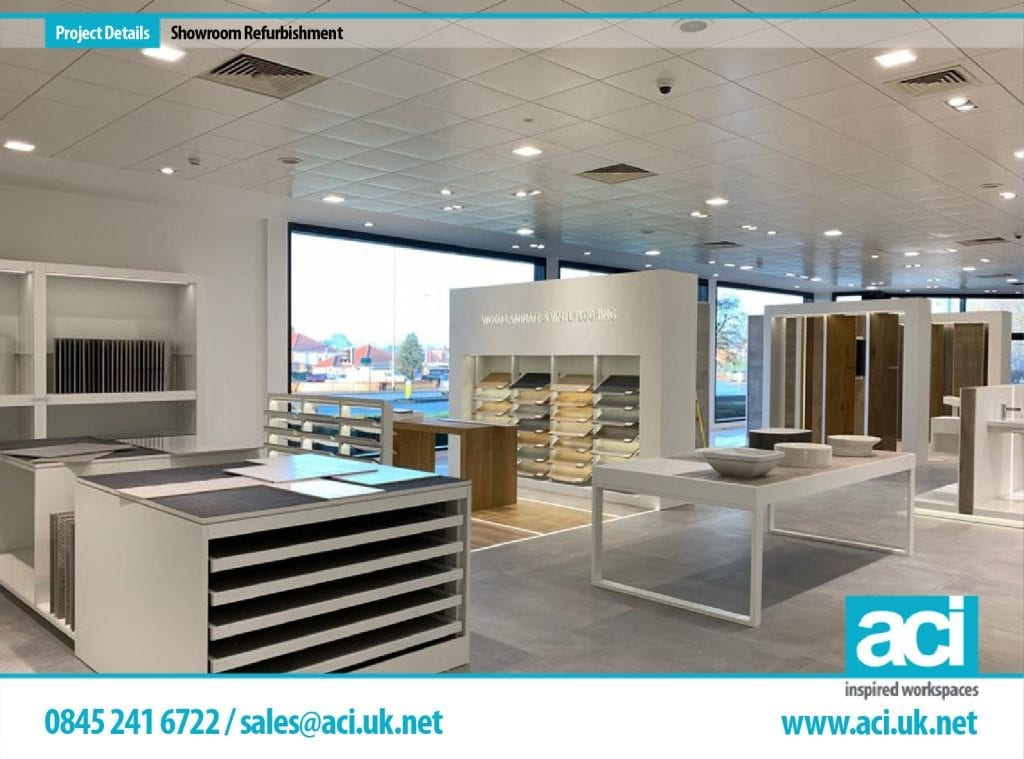 tile showroom fit out