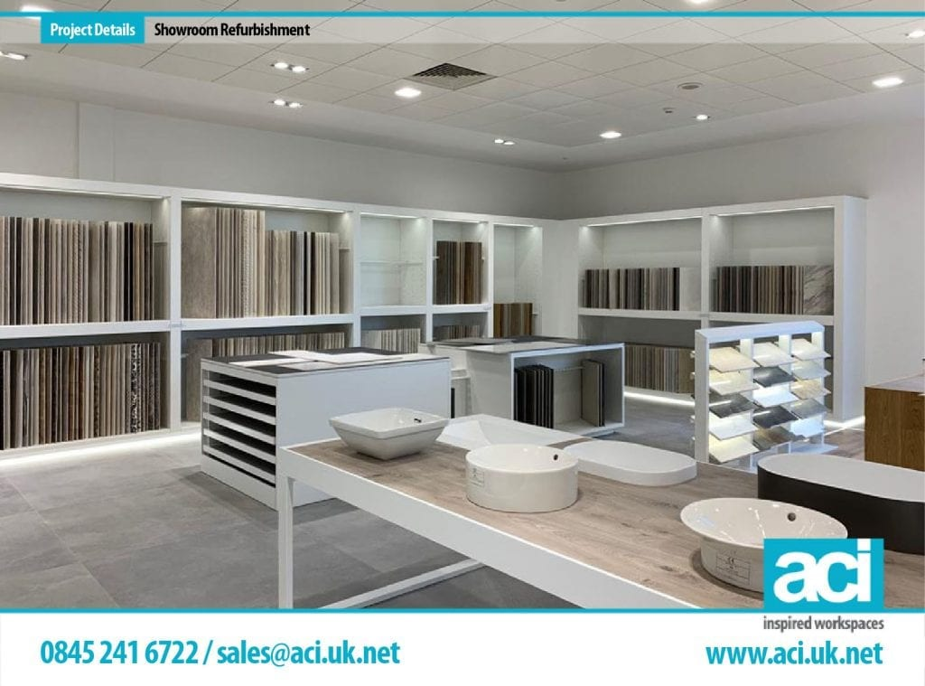 showroom fit out project