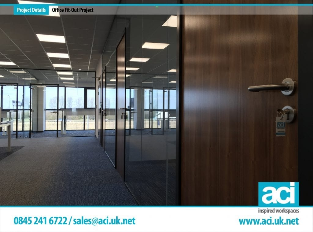 frameless glass partitioning install