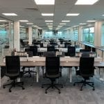Full office fit out project