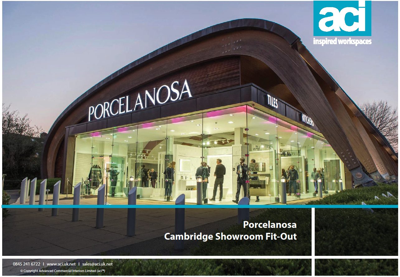 Full Turn-Key Showroom Refurbishment for Porcelanosa