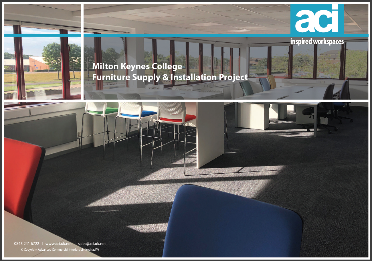 Furniture Fit-Out Project for Milton Keynes College